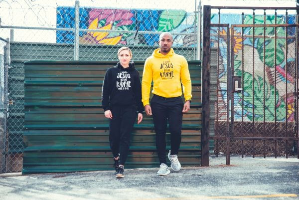 Modest Muscle Hoodies Black and Yellow